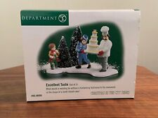 """Dept. 56 Christmas In The City """"Excellent Taste� New!"""