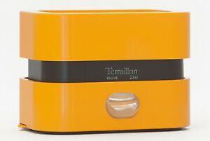 Bilancia Terraillon Export 2000 arancio chiaro vintage anni 70 (Zanuso - Sapper)