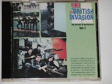 The British Invasion - The History Of British Rock, Vol.1 (The Kinks...) CD