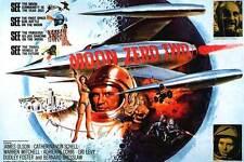 MOON ZERO TWO Movie POSTER 30x40 UK James Olson Catherine Schell Warren Mitchell