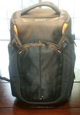 SONY LCS-BP3 Travel Back Pack Case 3Way For DSLR Camera Laptop Tripod+Rain Cover