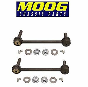 For Cadillac CTS Pair Set of 2 Front Stabilizer Sway Bar End Links Moog K750190