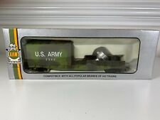 Vintage HO scale AHM US Army military Freight car train new in box