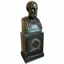 """Bronze Bust of Hippocrates """"The Father of Medicine"""""""