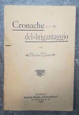 CRONACHE DEL BRIGANTAGGIO MISASI NAPOLI 1893 SILA TIRIOLO TALLARICO