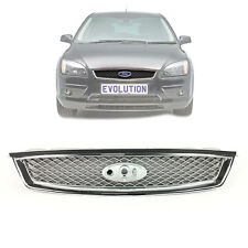 OEM FRONT RADIATOR CHROME GRILLE FITS FORD FOCUS MK2, C-MAX 2005-08, 1508157