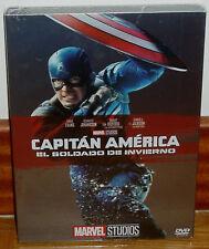 CAPITAN AMERICA EL SOLDADO DE INVIERNO SLIPCOVER DVD NUEVO MARVEL (SIN ABRIR) R2
