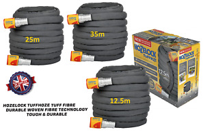 Hozelock Tuffhoze 12.5/25/35m Tuff Fibre Woven Fibre Technology Tough Durable