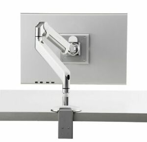 Ergotron LX Dual Monitor Adjustable Desk Mount Monitor Arm with Desk Clamp