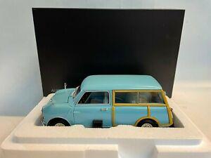 Kyosho Austin Mini Countryman MKI blue 1960 1/18 08194BL