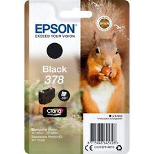 Epson Original T3781 Squirrel 378 Black Ink Cartridge (C13T37814010) XP-8500
