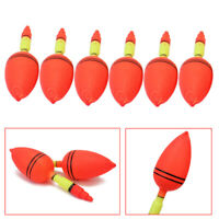 6x Angler Fishing Floats Bobbers Slip Tube Indicator Fish Accessories Tool
