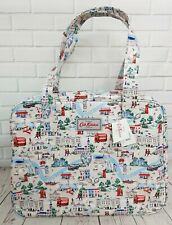 Cath Kidston Large Boxy Bag  Small London Map Stone Colour New with Tag
