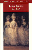 Camilla: Picture of Youth (Oxford World's Classics), Burney, Fanny, Very Good