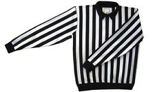 New Force hockey referee jersey size youth Large L 40 officials ref snap shirt
