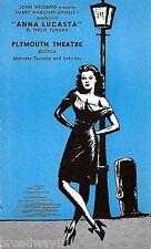 "Ruby Dee ""ANNA LUCASTA"" Ossie Davis / Warren Coleman 1946 Boston Promo Postcard"