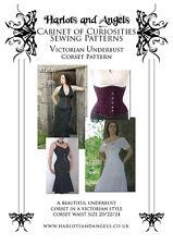 Victorian Underbust Corset Sewing Pattern MEDIUM