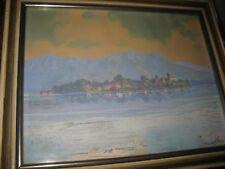 KLÖDEN Emil Rudolf, *1892 Ansicht des Chiemsees