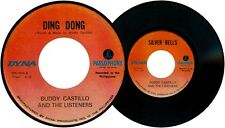 Philippines BUDDY CASTILLO & The LISTENERS Ding Dong OPM 45 rpm Record