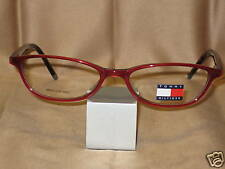 Tommy Hilfiger Eyeglasses Red/Tortoise Simple Cat