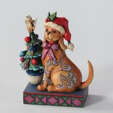 Jim Shore Heartwood Creek 'Tails Wag For Christmas' Christmas Dog 4027767