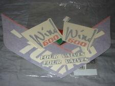 New Genuine Aprilia Tuareg Wind 600 (1988) Decal Set - Sidepanels AP8111906