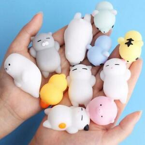 Cute Squishy Toy Mini Animal Antistress Ball Squeeze Toys Stress Relief Fun Kids