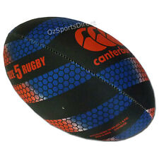 CCC Thrillseeker Rugby Training Ball Size 5 Black/Blue/Red