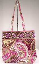 Vera Bradley Very Berry Paisley Large Shopper Tote Bag Purse (Retired /Pre-Owned