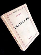 SAMIVEL - Contes à pic - Arthaud, 1952 - très bel état