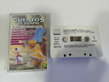 CUENTOS DE SIEMPRE VOL 13 - CASSETTE TAPE CINTA SPANISH ED 1992 MUXIVOZ ALADINO