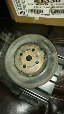 Jeep CJ Fan, Pulley 1 GROOVE 5 5/8'S INCHES WIDE 2 1/4 DEEP