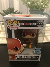 FUNKO POP! TELEVISION 833: BIG BANG THEORY - SHELDON COOPER AS THE FLASH! SDCC!