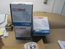 3- New System Sensor Spswv Wall Speaker/ Strobes White