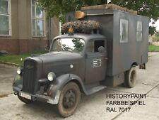 RAL7017 FARBE WEHRMACHT DUNKELBRAUN BRAUNGRAU ab 1937 KDF SDKFZ LACK
