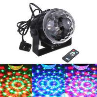 Mini DJ Club Disco KTV Party Bar RGB Color LED Ball Laser Projector Stage Light