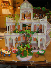 Playmobil 3019 Fairy Tale Royal Castle Trees Animas Elves Table Huge Lot C8