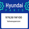 976261W100 Hyundai Valveexpansion 976261W100, New Genuine OEM Part