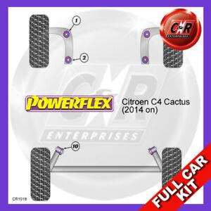 Citroen C4 Cactus (2014 on) Powerflex Complete Bush Kit