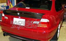 CSL Real Carbon Fiber Trunk Spoiler Wing For BMW E46 M3 328i 330i Sedan 4D B012