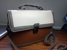 SMART  FAUX  LEATHER SATCHEL BAG FROM ATMOSPHERE