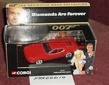 "CORGI 1971 ?? FORD MUSTANG ""DIAMONDS ARE FOREVER"" JAMES BOND 1/43"