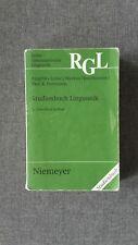 Studienbuch Linguistik - Linke / Nussbaumer / Portmann - Germanistik