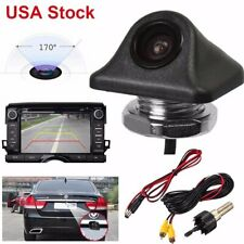 Universal Car Rear View Camera Auto Parking Reverse Backup Camera Waterproof Us (Fits: Bmw)