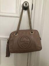Gucci Soho Disco Bag - Nude - Patent Leather