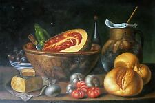 FOOD FROM MY VILLAG Oil Painting on canvas -   size 36x24