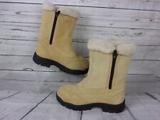 Sorel Womens Tan Winter Thinsulate Snow Boots Size 8