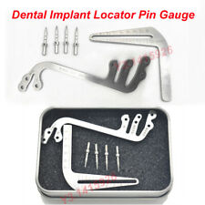 1Kit Dental implant guide set tooth Measuring ruler tool calipers Bone ridge S+L