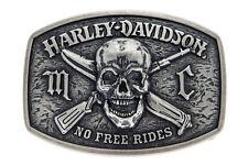 "Harley-Davidson Gürtelschnalle ""NO FREE"" Buckle Gürtel  *HDMBU10860*"