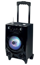 Soundlogic - LED Speaker - mobiler Lautsprecher Wireless Bluetooth USB Klinke